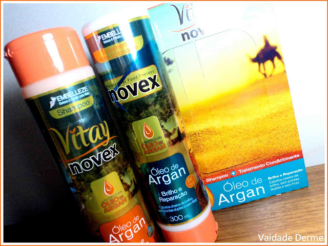 Shampoo e Condicionador Vitay Novex Óleo de Argan da Embelezze