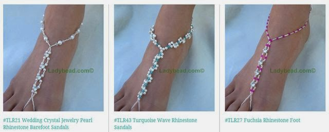 Foot Jewelry Beach Wedding