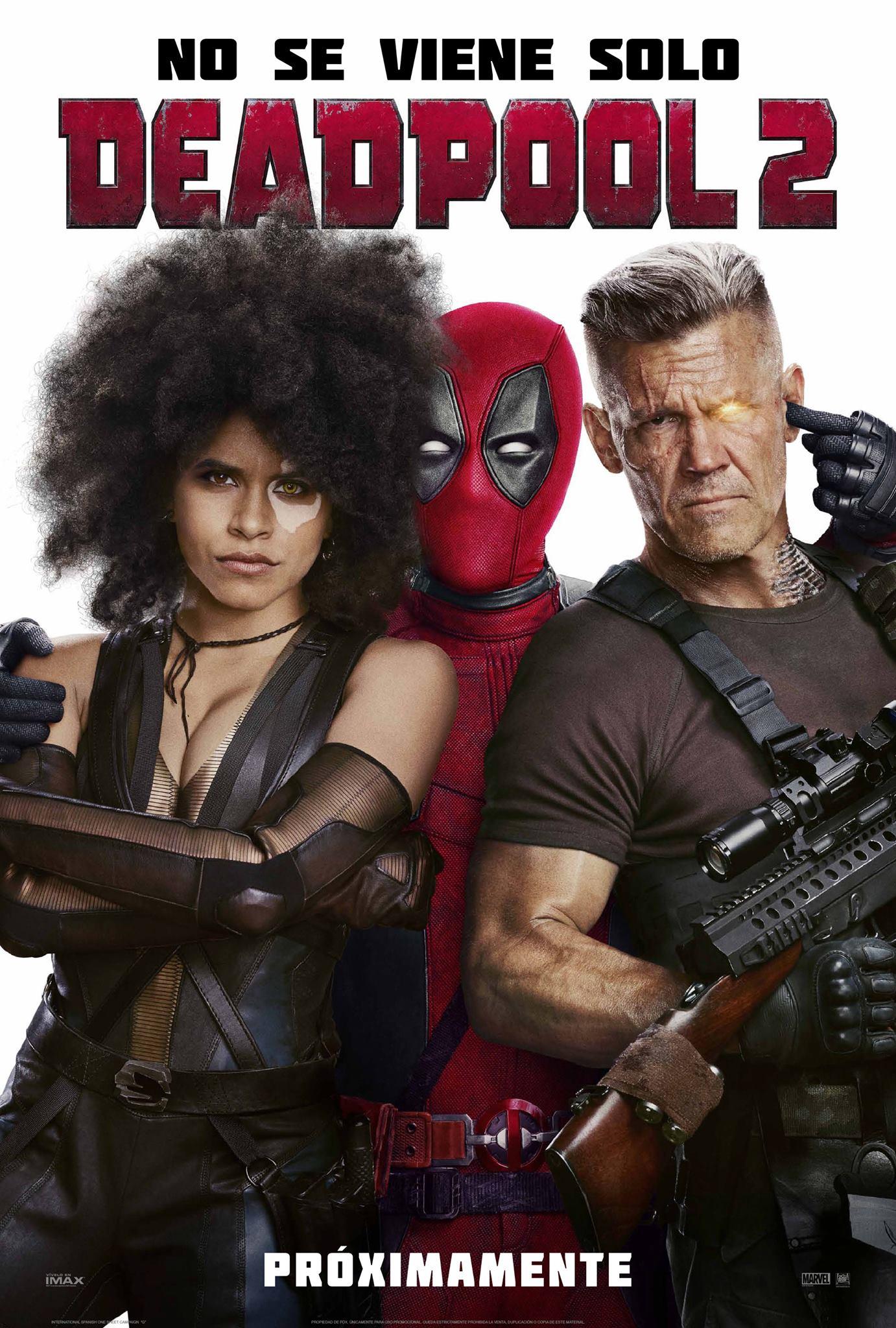 Deadpool 2 Película Completa HD 720p [MEGA] [LATINO] 2018