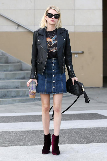 Actress, Singer, @ Emma Roberts - O&A and getting a pedicure in LA