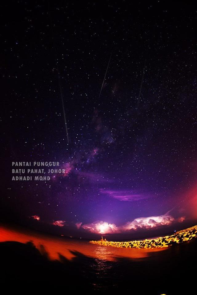 Batu Pahat Malaysia  City new picture : hujan meteor perseids ogos 2013 batu pahat malaysia