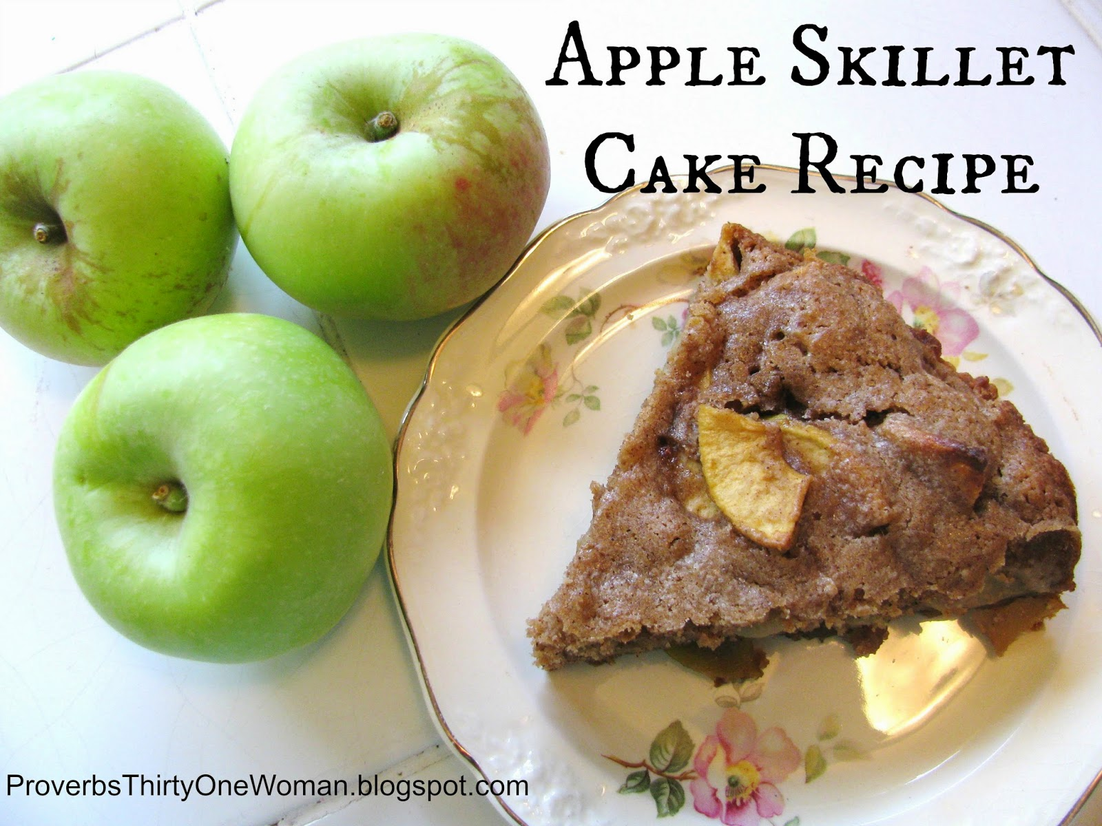 Cinnamon-Sugar Apple Skillet Cake Recipe — Dishmaps