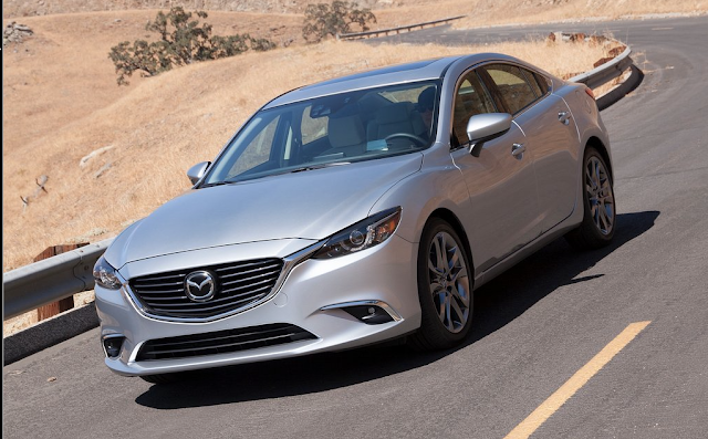 2016 Mazda 6 silver action