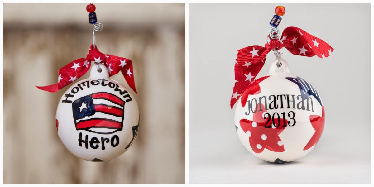 Hometown Hero Ornaments