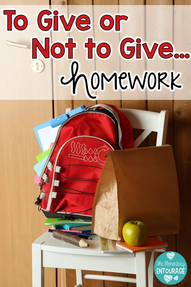The debate on homework