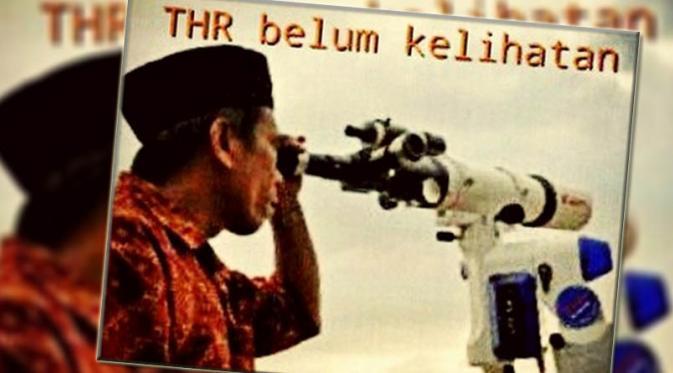 Gambar DP BBM THR dan Meme Lucu THR