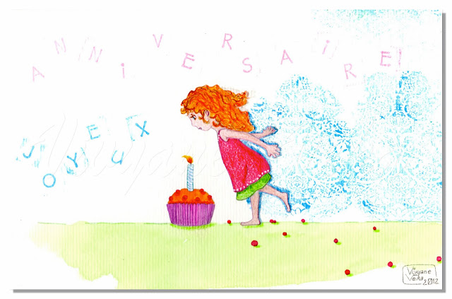 birthday illustration