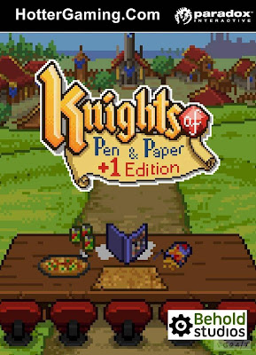 Free Download Knights of Pen and Paper +1 Edition PC Game Cover Photo