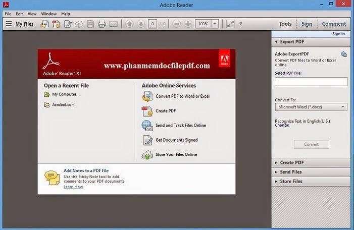Hướng dẫn cài đặt Adobe Reader