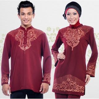 Baju Muslim Pasangan - Serasi Model Gaya BajuMuslim Pasangan.