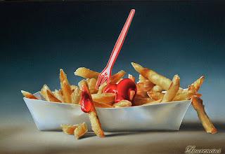 4-Lukisan-Makanan-Karya-Tjalf-Sparnaay-fries-with-ketchup