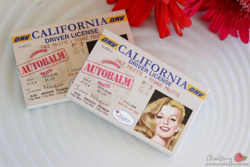 theBalm Autobalm California Palette review swatches blush highlighter eyeshadow דה באלם פלטה סקירה בלוג איפור