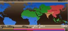 εξάπλωση και εξαφάνιση των αυτοκρατοριών