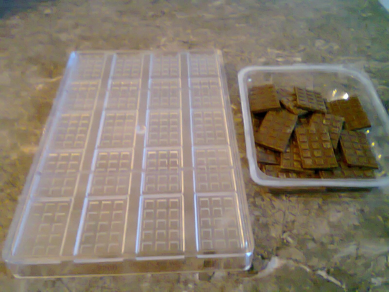 lundi p tisserie brownies 3 chocolats. Black Bedroom Furniture Sets. Home Design Ideas