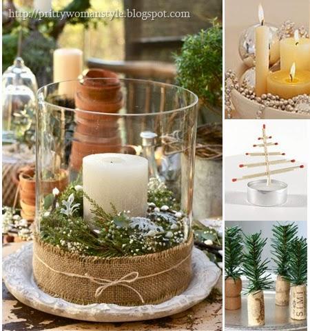 Коледна украса от подръчни материали