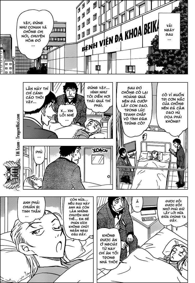 Detective Conan - Thám Tử Lừng Danh Conan chap 803 page 15 - IZTruyenTranh.com