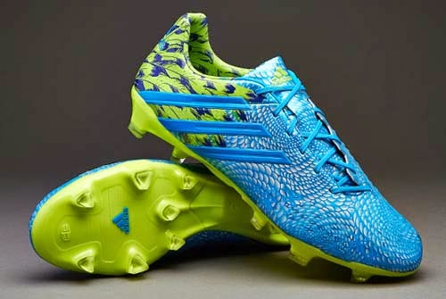New football boots Adidas Predator LZ Carnaval with blue color