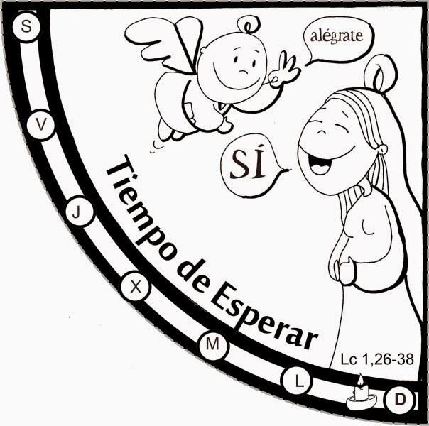 Educar con Jesús: Adviento ciclo B. El reloj de Fano (para ...