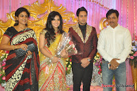 Celebraties at Actor Bharat n Jessy Wedding Reception Photos+%25285%2529 Actor Bharath n Jessy Wedding Photos