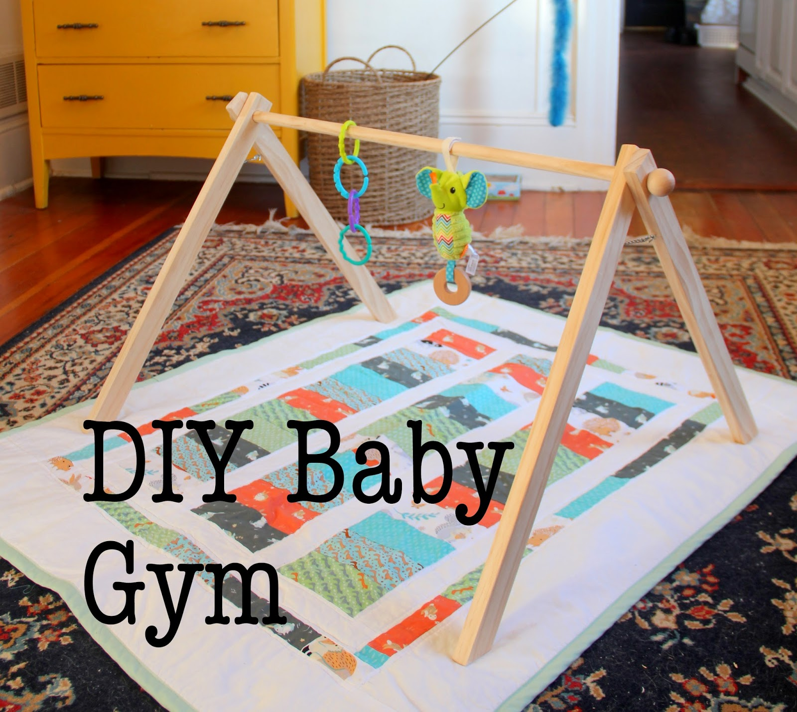 Eak A House Diy Baby Gym