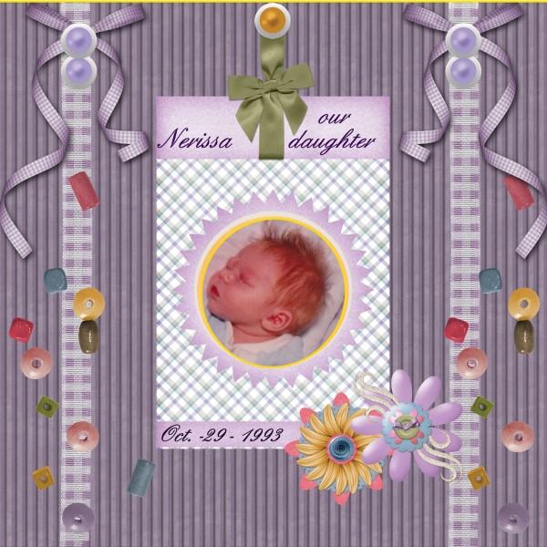 Feb.2016. Our Daughter Nerissa