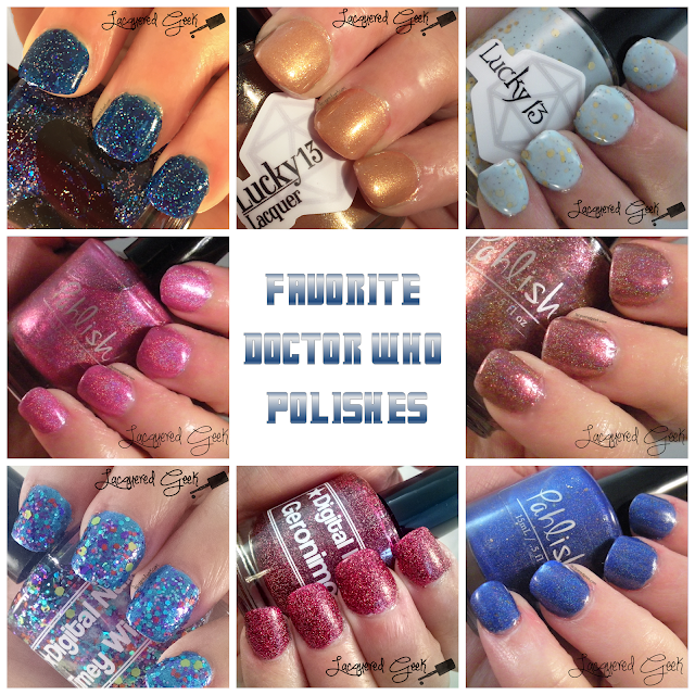 Doctor Who nail polishes