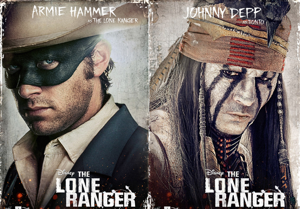 The Lone Ranger: Final Trailer & Character Posters Set