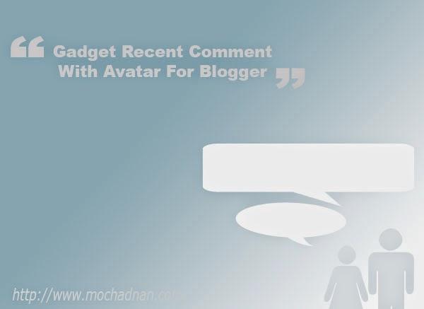 Cara Membuat Widget Recent Comment