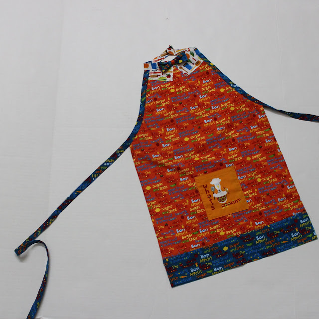 Mr. Chef Boys Apron Pattern and Tutorial