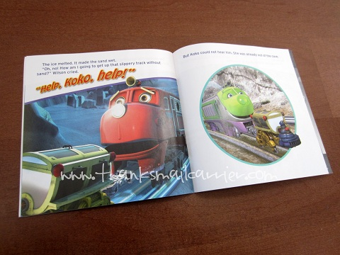 Chuggington Icy Escapades book