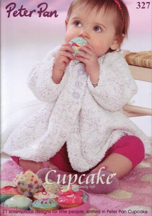 Peter Pan Cupcake Knitting Pattern book