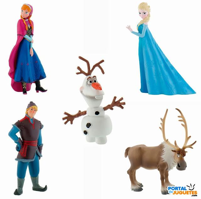 figuras frozen bullyland set completo