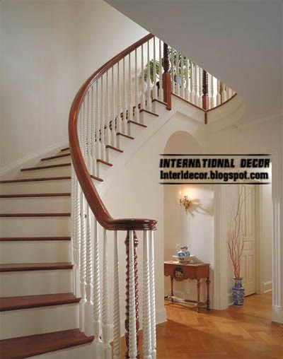 modern staircase design - interior stairs