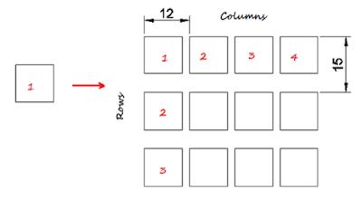 20 Hari belajar Autocad 2D hari #11 - Perintah array rectangular