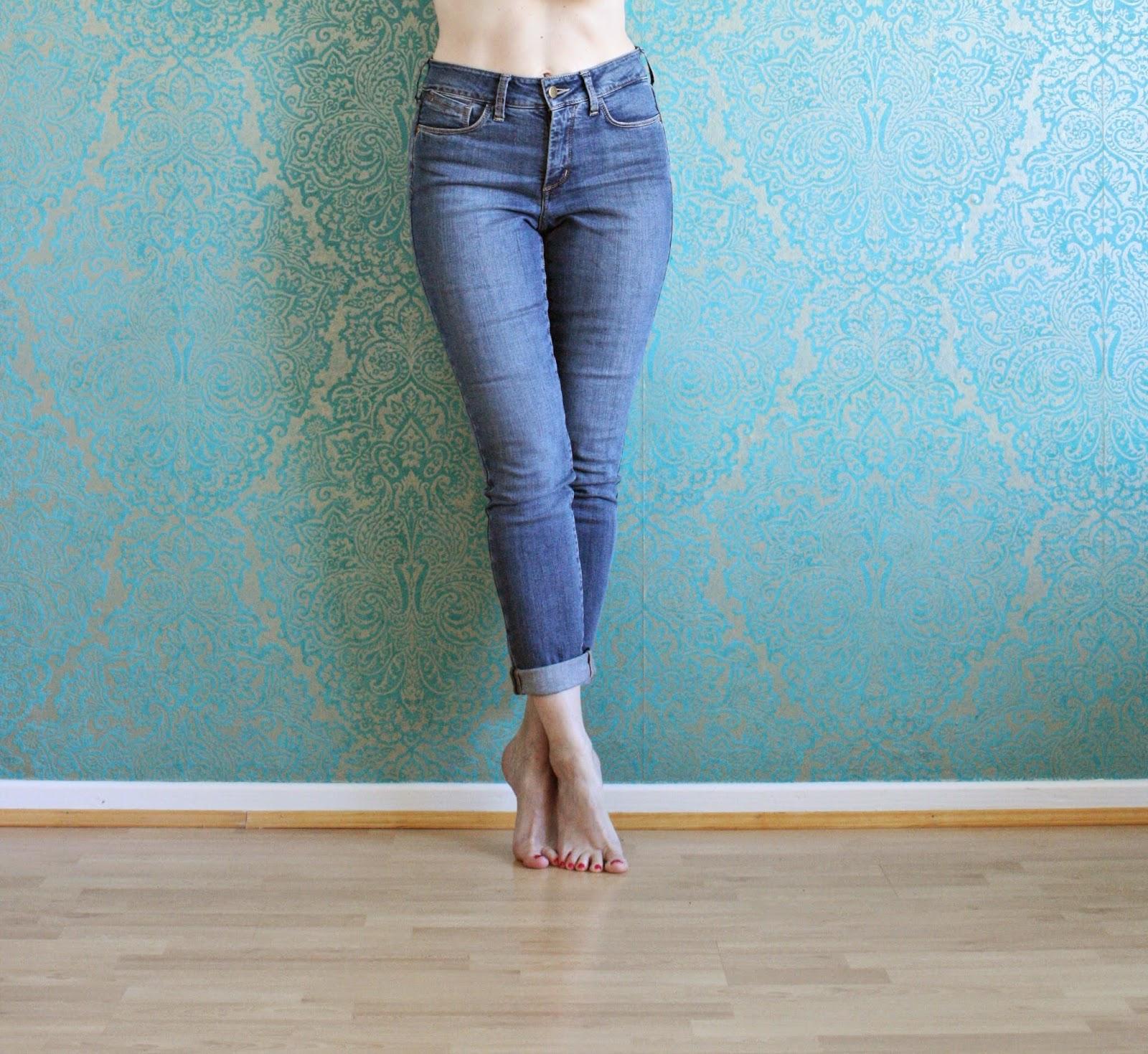 Und noch mal über Jeanshosen