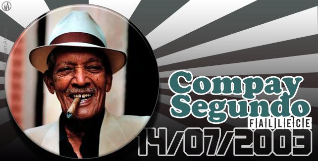 2003: fallece Compay Segundo, cantante y guitarrista cubano