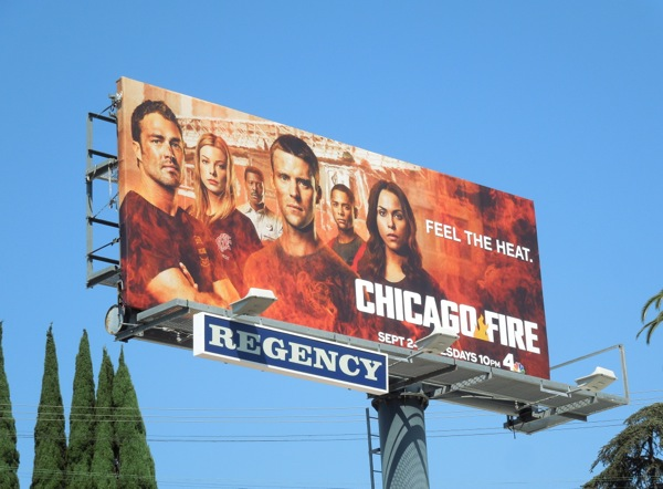 Chicago Fire season 2 billboard