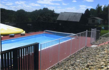 Greatmats specialty flooring mats and tiles customer for Pool area tiles