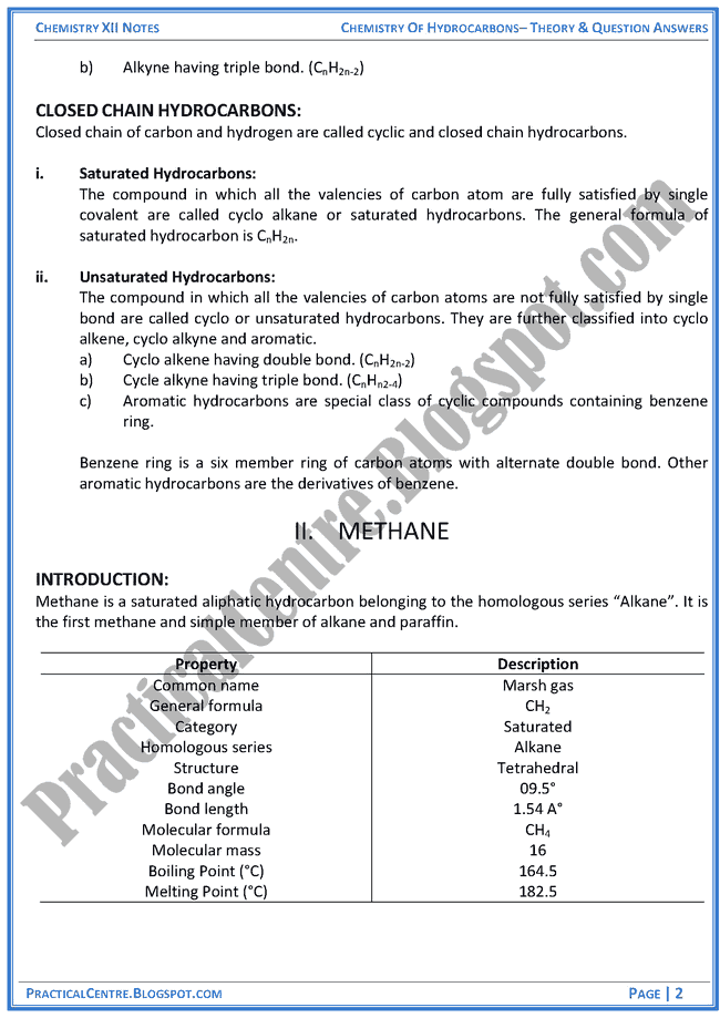 chemistry-of-hydrocarbons-theory-and-question-answers-chemistry-12th