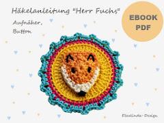 Ebook Herr Fuchs Button, Aufnäher