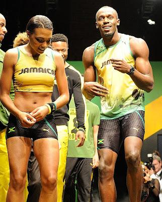 [Gambar] Awek Usain Bolt Yang Cun