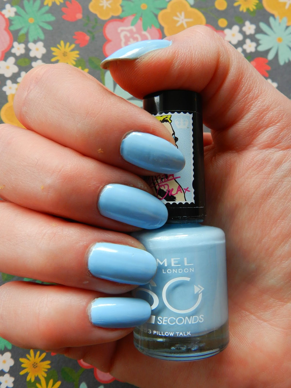 Unfade what fades: Rimmel 60 seconds nail polish in Pillow Talk and ...
