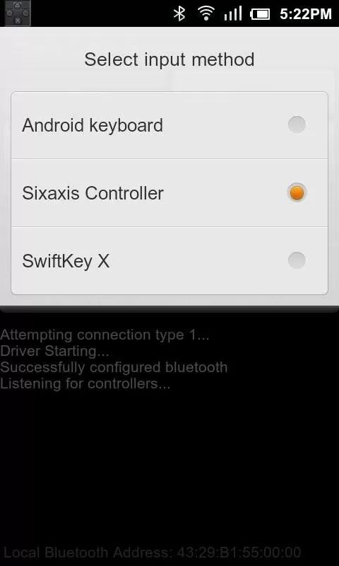 Sixaxis Controller v0.6.6