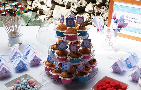 muffins goûter anniversaire