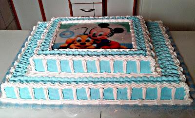 Bolos Turma Mickey Baby