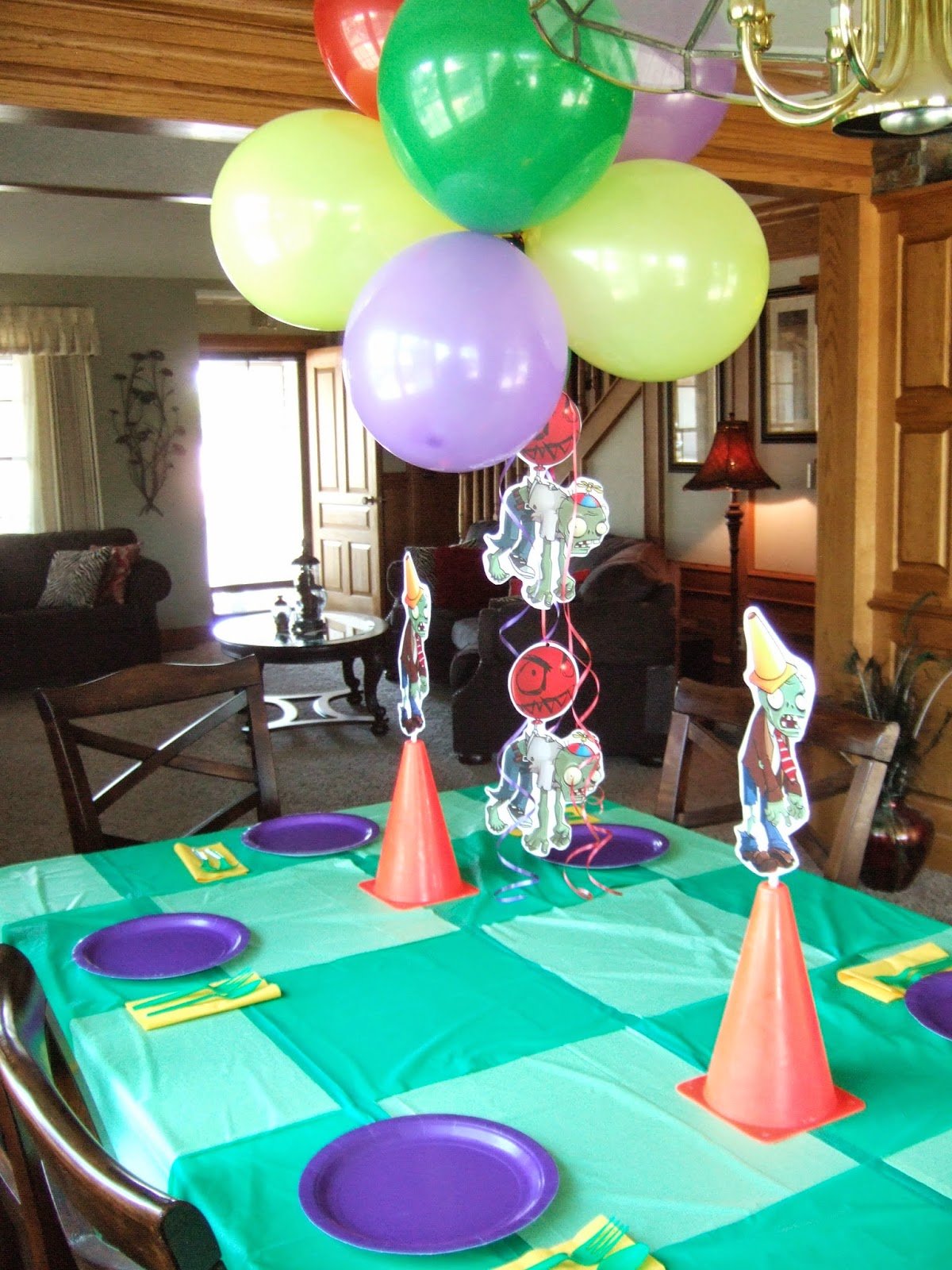 Jacobs Family Blog Plants Vs Zombies Birthday Party