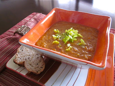 Французские щи или суп из чечевицы