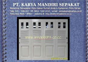 PINTU GARASI WINA TYPE W380 D3