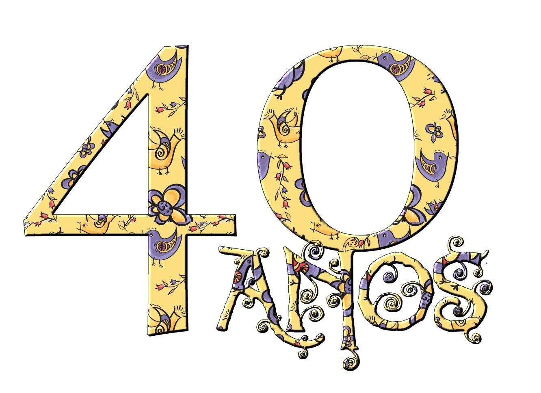 Festinha Pronta 40 Anos Feminino