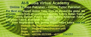 Saudi Arabia Best Online Female Tutors